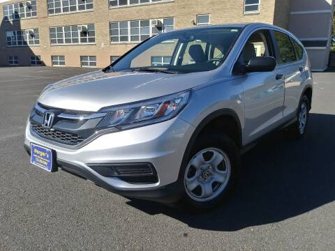 2016 Honda CR-V for sale at Nerger's Auto Express in Bound Brook NJ