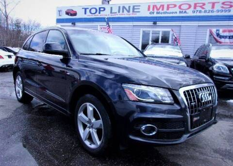 2012 Audi Q5 for sale at Top Line Import of Methuen in Methuen MA