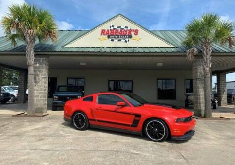 2012 Ford Mustang for sale at Rabeaux's Auto Sales in Lafayette LA