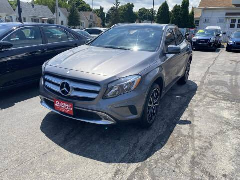 2017 Mercedes-Benz GLA for sale at CLASSIC MOTOR CARS in West Allis WI