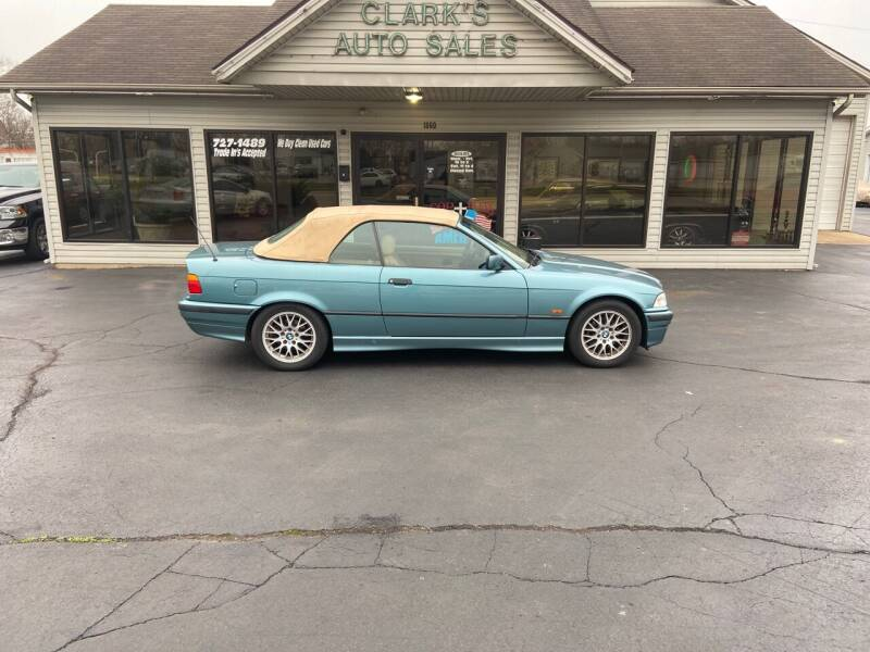 1997 BMW 3 Series for sale at Clarks Auto Sales in Middletown OH
