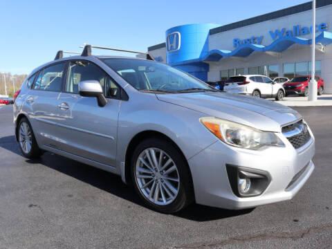 2012 Subaru Impreza for sale at RUSTY WALLACE HONDA in Knoxville TN