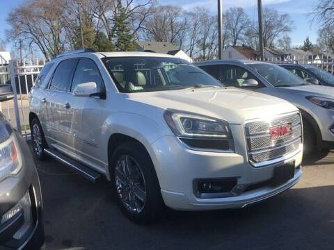 2015 GMC Acadia for sale at SOUTHFIELD QUALITY CARS in Detroit MI