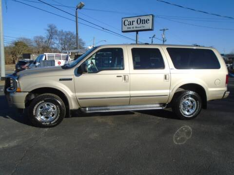 2004 Ford Excursion for sale at Car One in Murfreesboro TN