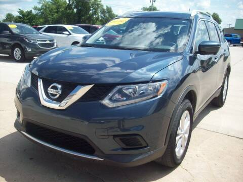 2016 Nissan Rogue for sale at Nemaha Valley Motors in Seneca KS