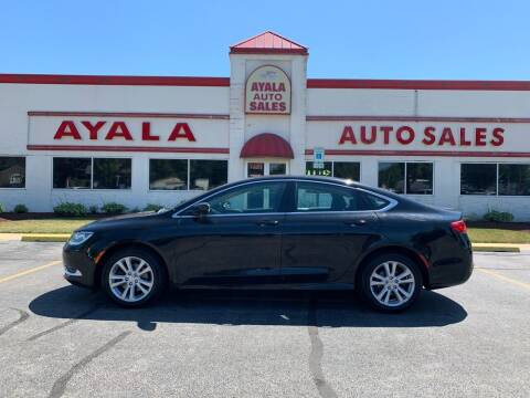 2015 Chrysler 200 for sale at Ayala Auto Sales in Aurora IL