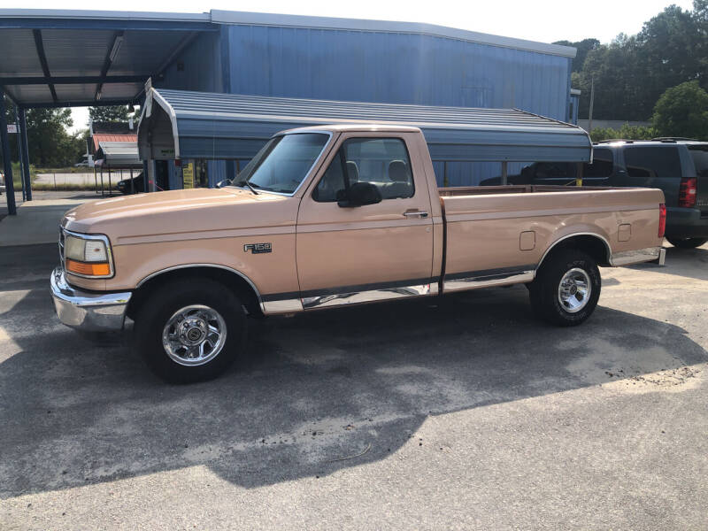 1994 Ford F-150 for sale at Mac's Auto Sales in Camden SC