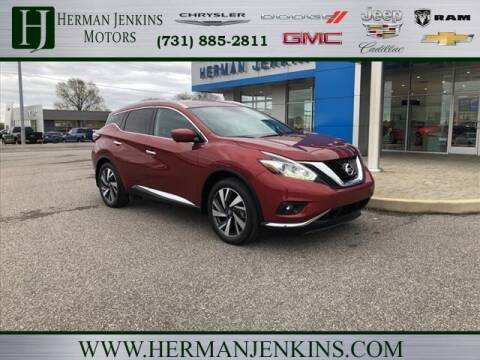 2017 Nissan Murano for sale at Herman Jenkins Used Cars in Union City TN