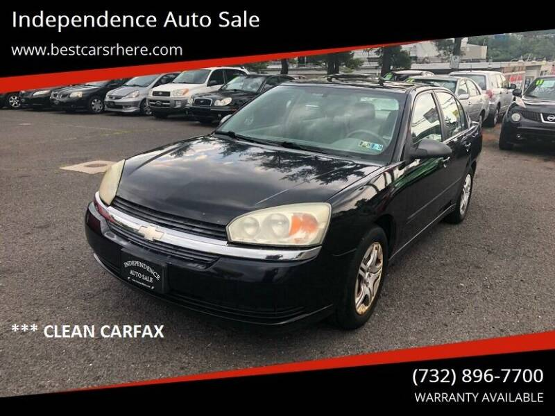 2005 Chevrolet Malibu for sale at Independence Auto Sale in Bordentown NJ