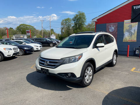 2012 Honda CR-V for sale at Top Quality Auto Sales in Westport MA