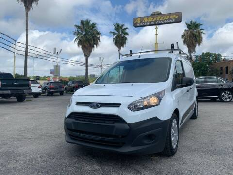 2017 Ford Transit Connect Cargo for sale at A MOTORS SALES AND FINANCE - 5630 San Pedro Ave in San Antonio TX