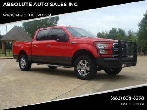 2017 Ford F-150 for sale at ABSOLUTE AUTO SALES INC in Corinth MS