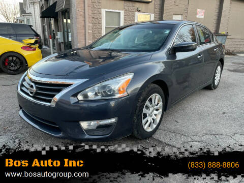 2013 Nissan Altima for sale at Bos Auto Inc in Quincy MA