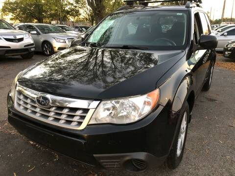 2012 Subaru Forester for sale at Atlantic Auto Sales in Garner NC