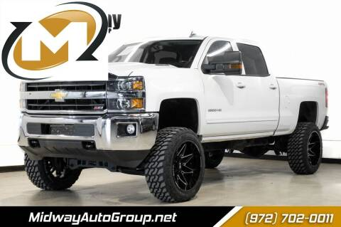 2018 Chevrolet Silverado 2500HD for sale at Midway Auto Group in Addison TX