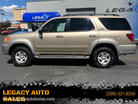 2001 Toyota Sequoia for sale at LEGACY AUTO SALES in Boise ID