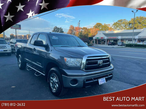 2011 Toyota Tundra for sale at Best Auto Mart in Weymouth MA