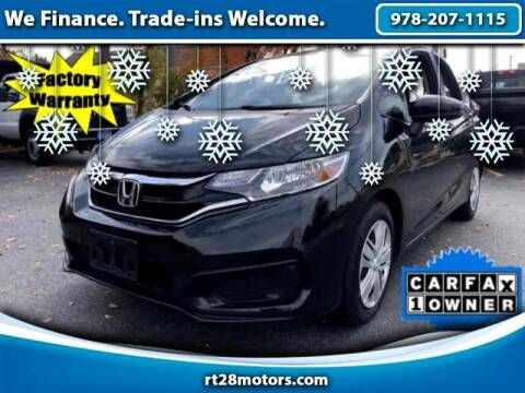 2019 Honda Fit for sale at RT28 Motors in North Reading MA