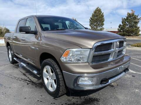 2010 Dodge Ram Pickup 1500 for sale at BERKENKOTTER MOTORS in Brighton CO