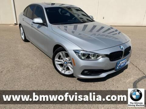 2017 BMW 3 Series for sale at BMW OF VISALIA in Visalia CA