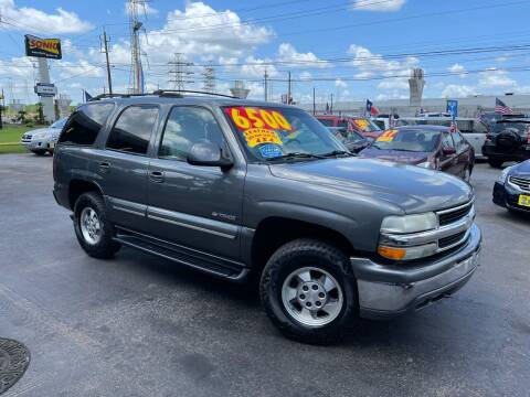 2001 Chevrolet Tahoe for sale at Texas 1 Auto Finance in Kemah TX