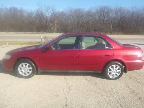 2002 Honda Accord for sale at NEW RIDE INC in Evanston IL