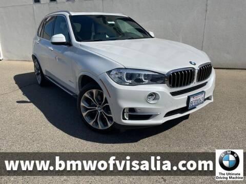 2018 BMW X5 for sale at BMW OF VISALIA in Visalia CA