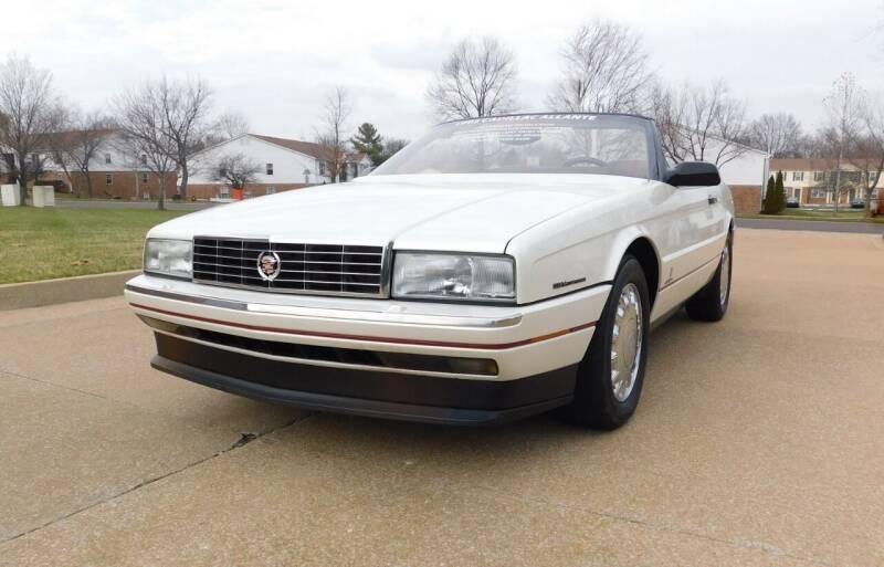 1993 Cadillac Allante for sale at WEST PORT AUTO CENTER INC in Fenton MO