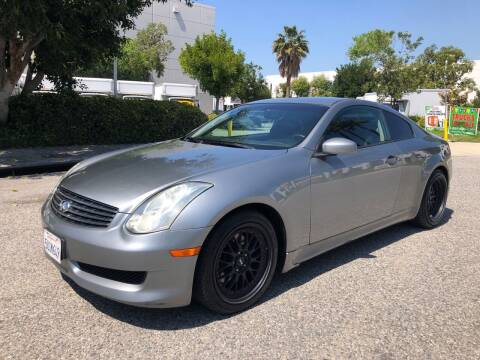 2006 Infiniti G35 for sale at Trade In Auto Sales in Van Nuys CA