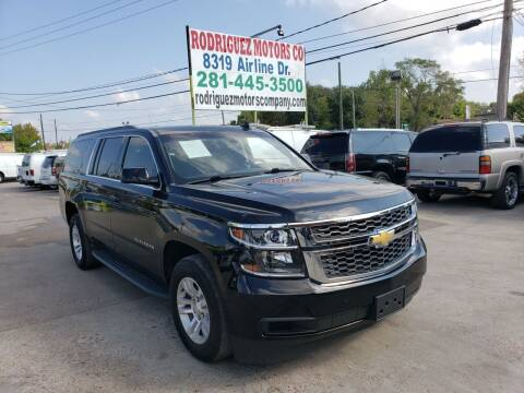2016 Chevrolet Suburban for sale at RODRIGUEZ MOTORS CO. in Houston TX
