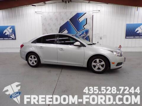 2014 Chevrolet Cruze for sale at Freedom Ford Inc in Gunnison UT