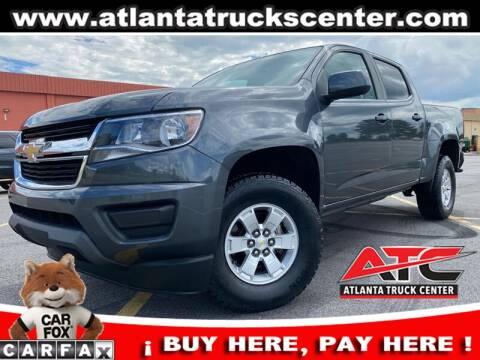2017 Chevrolet Colorado for sale at ATLANTA TRUCK CENTER LLC in Brookhaven GA