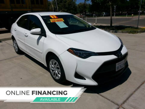 2017 Toyota Corolla for sale at Super Cars Sales Inc #1 in Oakdale CA