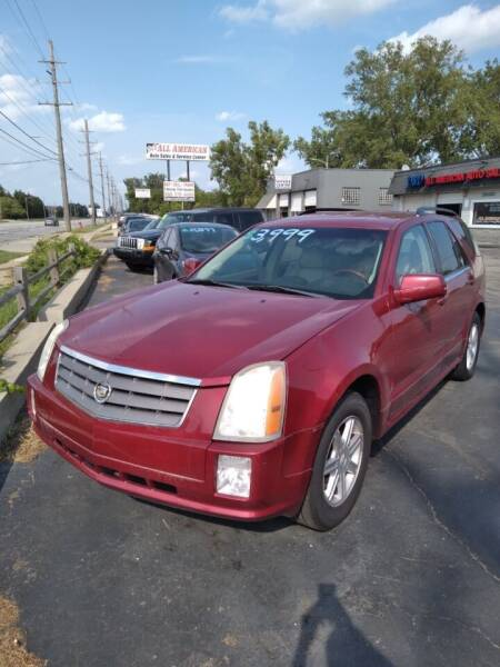 2004 Cadillac SRX for sale at D and D All American Financing in Warren MI