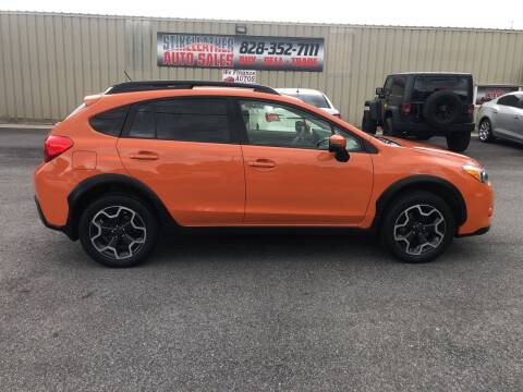 2015 Subaru XV Crosstrek for sale at Stikeleather Auto Sales in Taylorsville NC