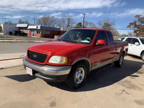2001 Ford F-150 for sale at KD Motors in Lubbock TX