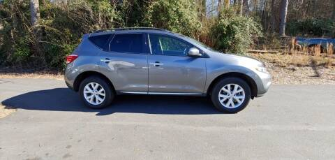 2013 Nissan Murano for sale at Buddy's Auto Inc in Pendleton SC