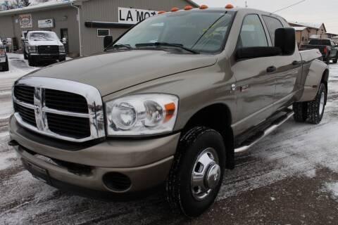 2008 Dodge Ram Pickup 3500 for sale at LA MOTORSPORTS in Windom MN