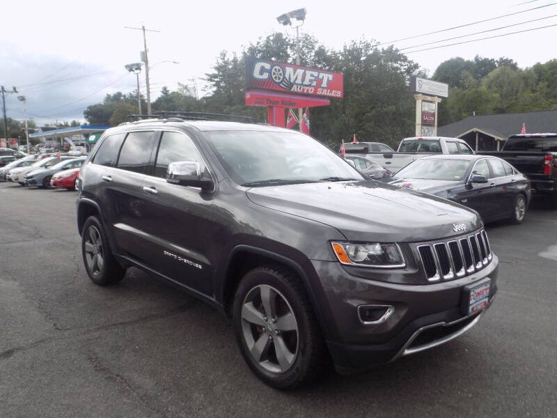 2014 Jeep Grand Cherokee for sale at Comet Auto Sales in Manchester NH