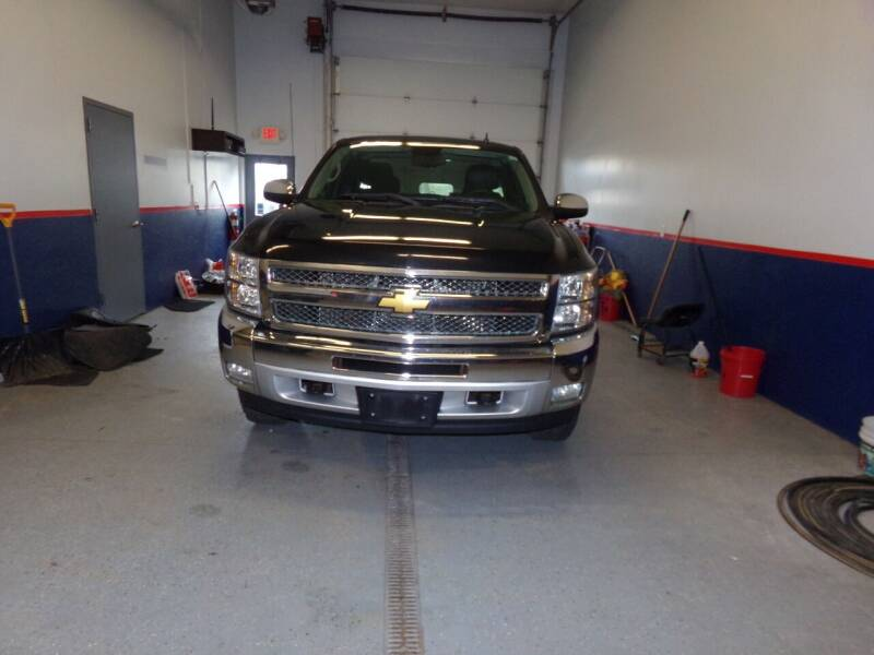 2012 Chevrolet Silverado 1500 for sale at Pool Auto Sales Inc in Spencerport NY