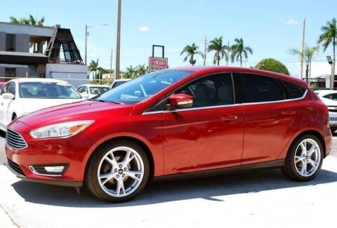 2015 Ford Focus for sale at Palm Beach Automotive Sales in West Palm Beach FL
