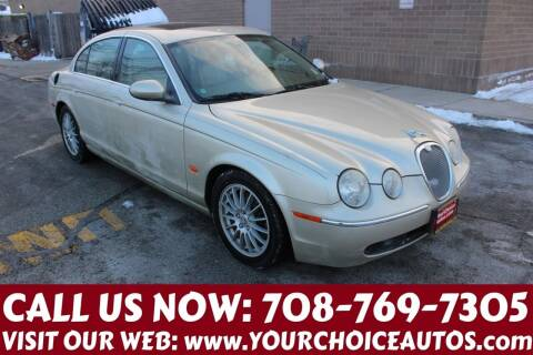 2006 Jaguar S-Type for sale at Your Choice Autos in Posen IL