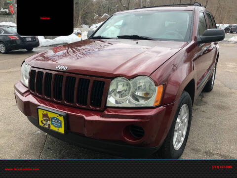 2007 Jeep Grand Cherokee for sale at L A Used Cars in Abington MA
