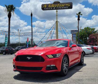 2016 Ford Mustang for sale at A MOTORS SALES AND FINANCE - 5630 San Pedro Ave in San Antonio TX