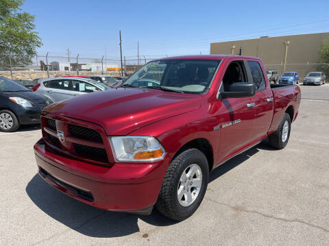2012 RAM Ram Pickup 1500 for sale at Legend Auto Sales in El Paso TX
