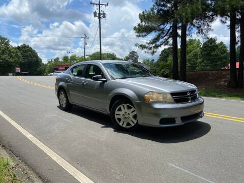 2013 Dodge Avenger for sale at THE AUTO FINDERS in Durham NC