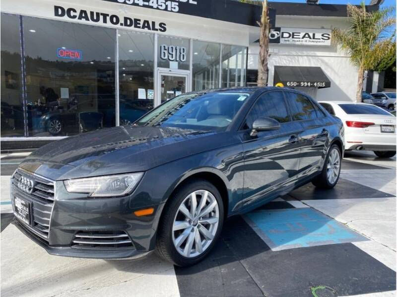 2017 Audi A4 for sale at AutoDeals in Daly City CA