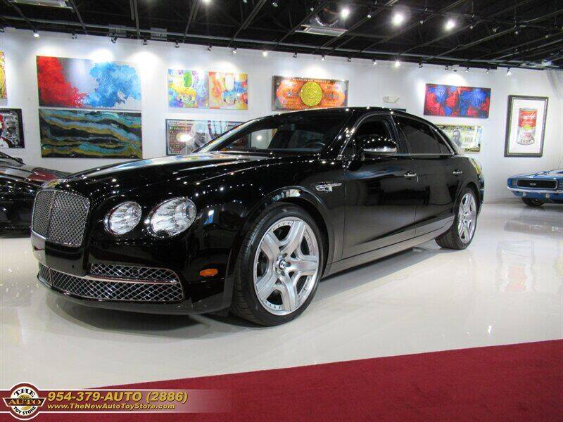 2014 Bentley Flying Spur for sale at The New Auto Toy Store in Fort Lauderdale FL