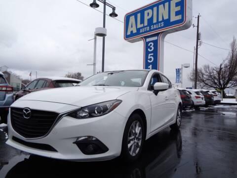 2016 Mazda MAZDA3 for sale at Alpine Auto Sales in Salt Lake City UT