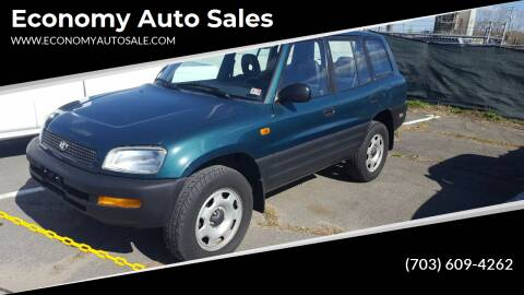 1997 Toyota RAV4 for sale at Economy Auto Sales in Dumfries VA